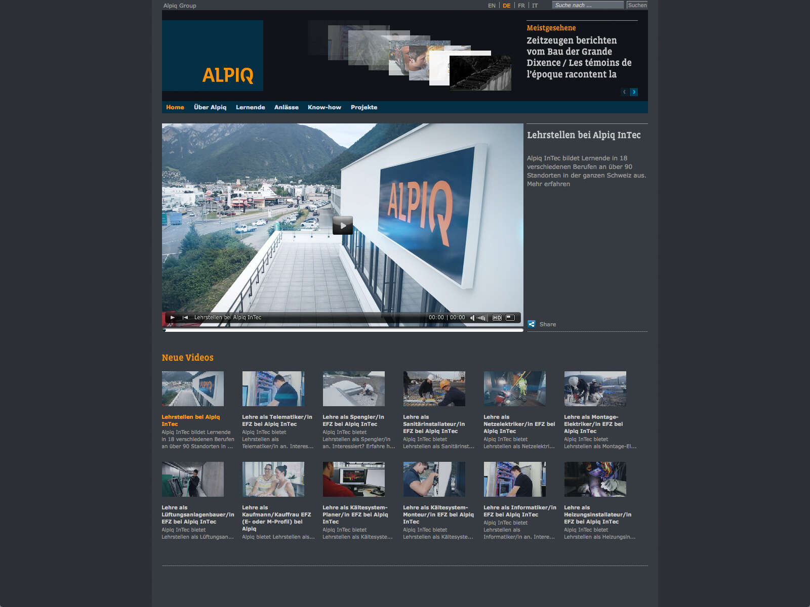 The Video Portal Is Designed As A Complete Web Page, Displaying Your Videos  In An Ordered Overview. The Naming Of The Channels Or Order Structure Is Up  To ...